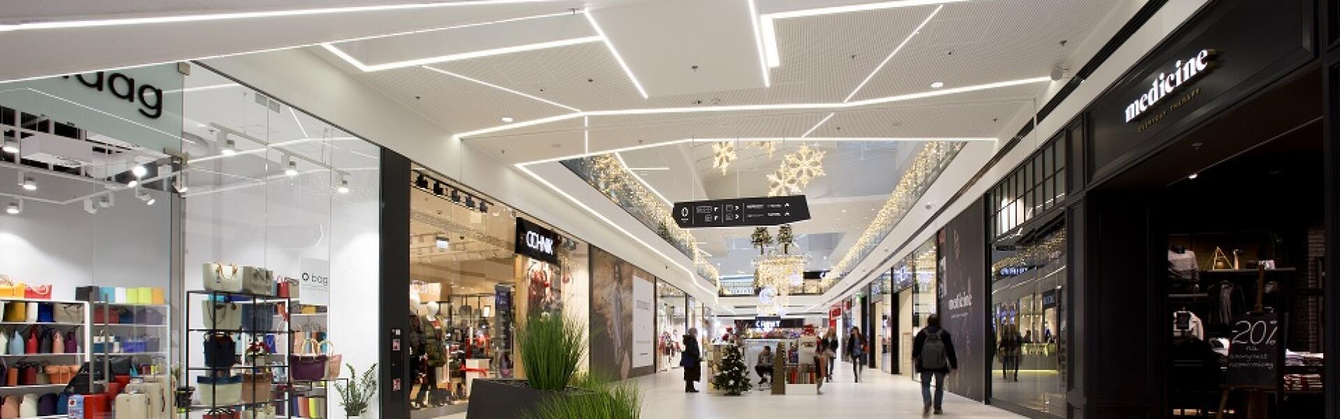 Магазины и торговые центры