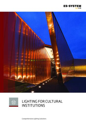 Lighting for cultural institutions