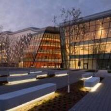 ICE Kraków Congress Centre lit by ES-SYSTEM