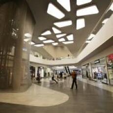 ES-SYSTEM illuminated the Galeria Warmińska shopping center in Olsztyn