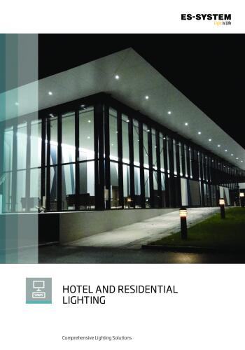 Hotel and residential lighting