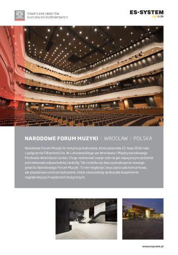 Narodowe Forum Muzyki - Wrocław
