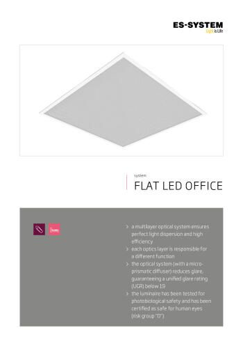 FLAT LED OFFICE