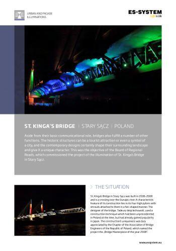 St. Kinga's Bridge - Stary Sacz