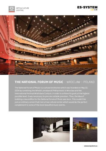 The National Forum of Music - Wroclaw