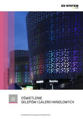 Oświetlenie sklepów i galerii handlowych