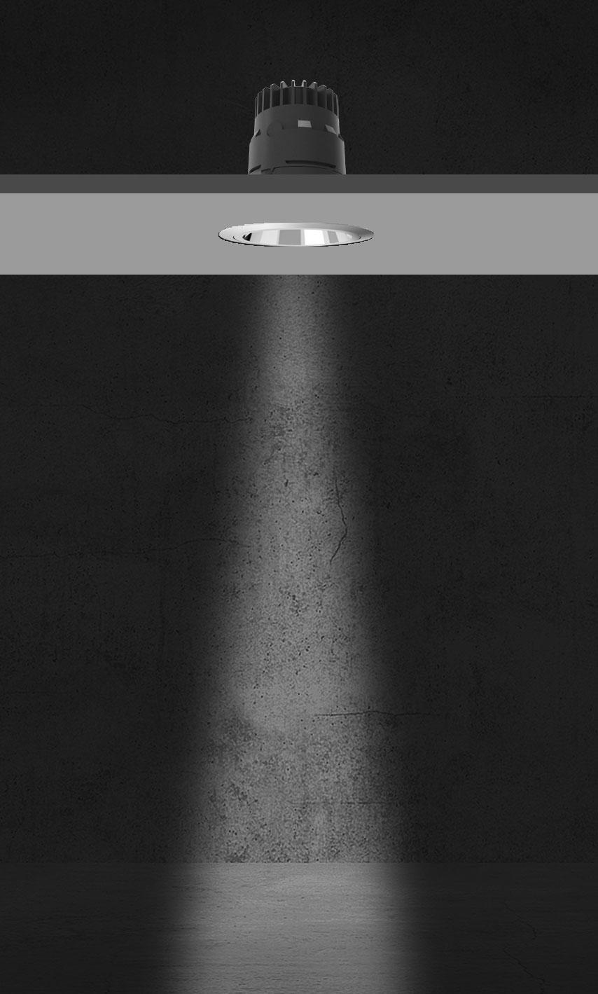 Rozsył światłości systemu Geco - 12 stopni