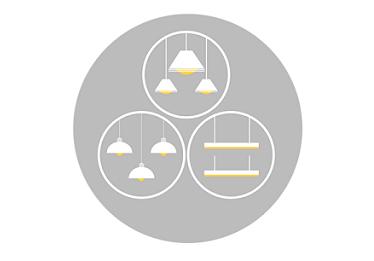 Luminaire grouping