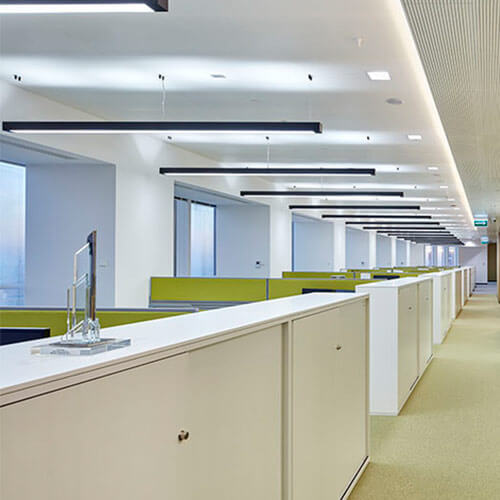 Intelligent Lighting Control - Office buildings