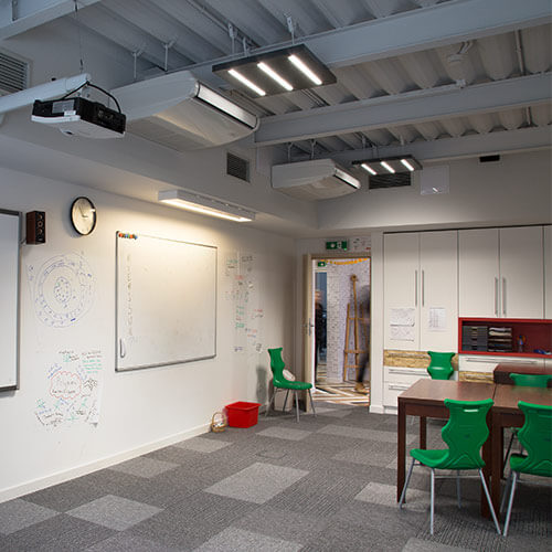 Intelligent Lighting Control - Educational facilities