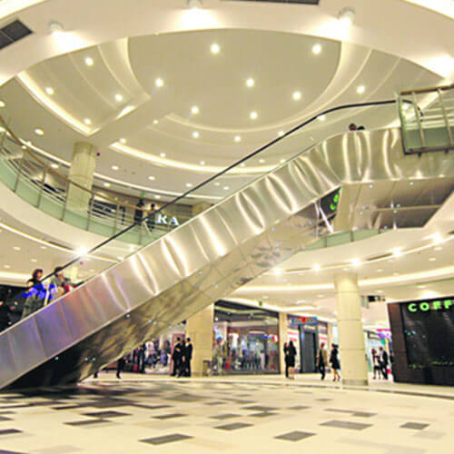 Intelligent Lighting Control - Stores and shopping centers