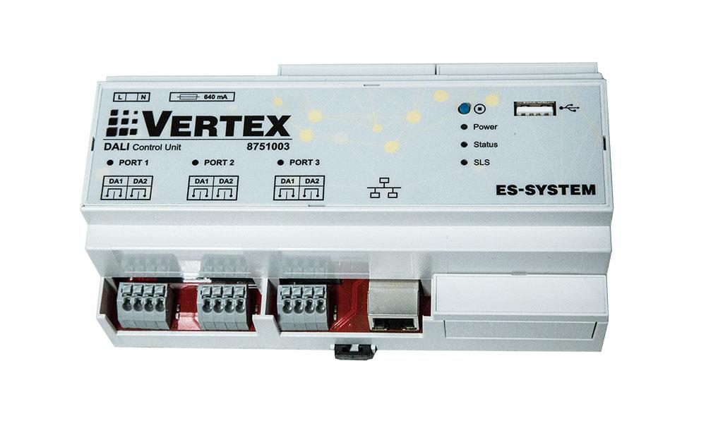 System automatyki oświetleniowej Vertex